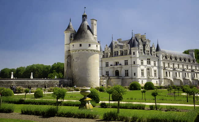 Gardens at Chateau de Chenonceau