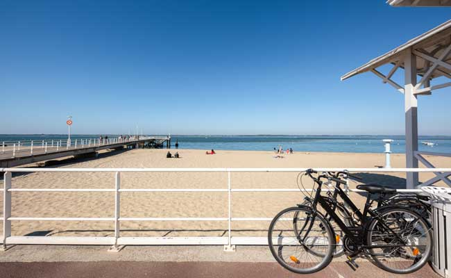 Arcachon, one of the best easy cycling routes in Europe