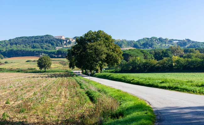 One of the best easy cycling routes in Europe, Tuscany