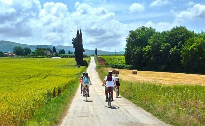 Tuscany Cycle Routes