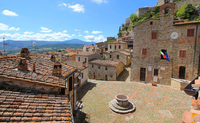 Tuscany cycling routes