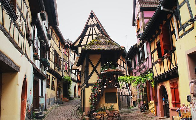 Pretty towns in France