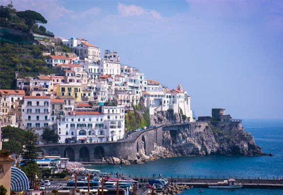 Amalfi Coast - Textbox Image