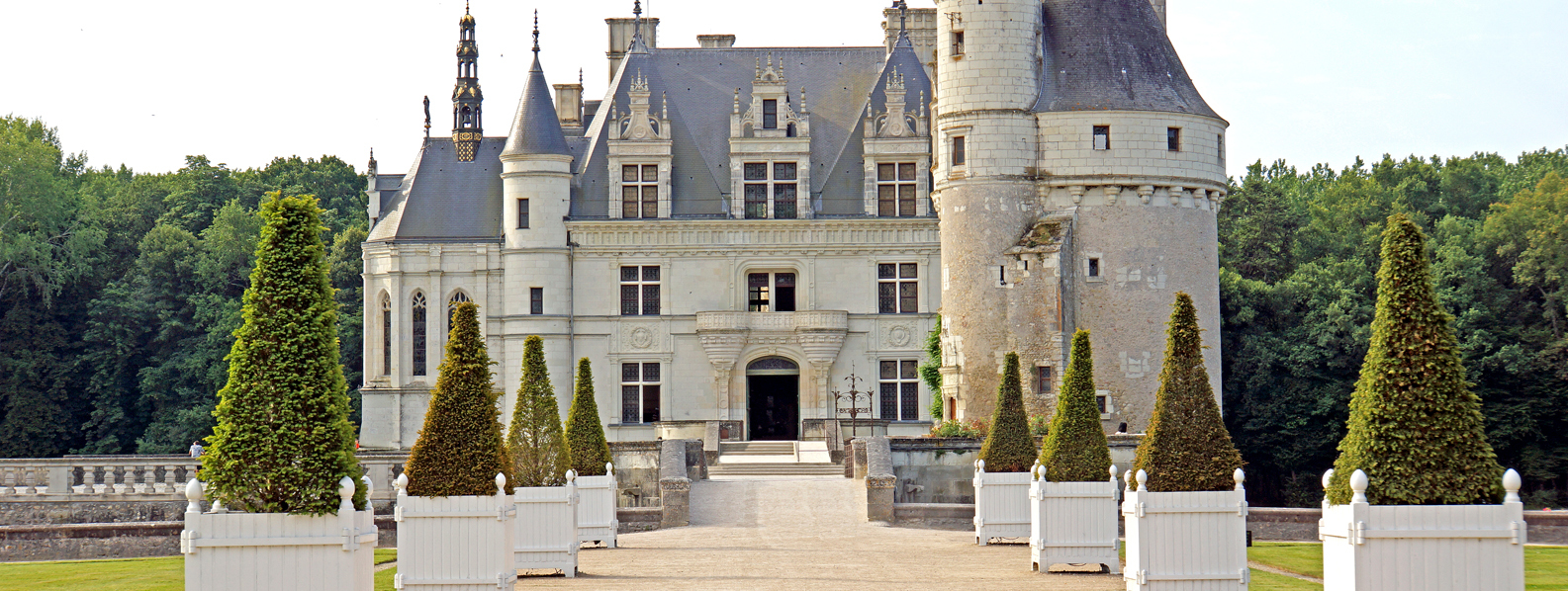 Chateau Cenonceau in Loire