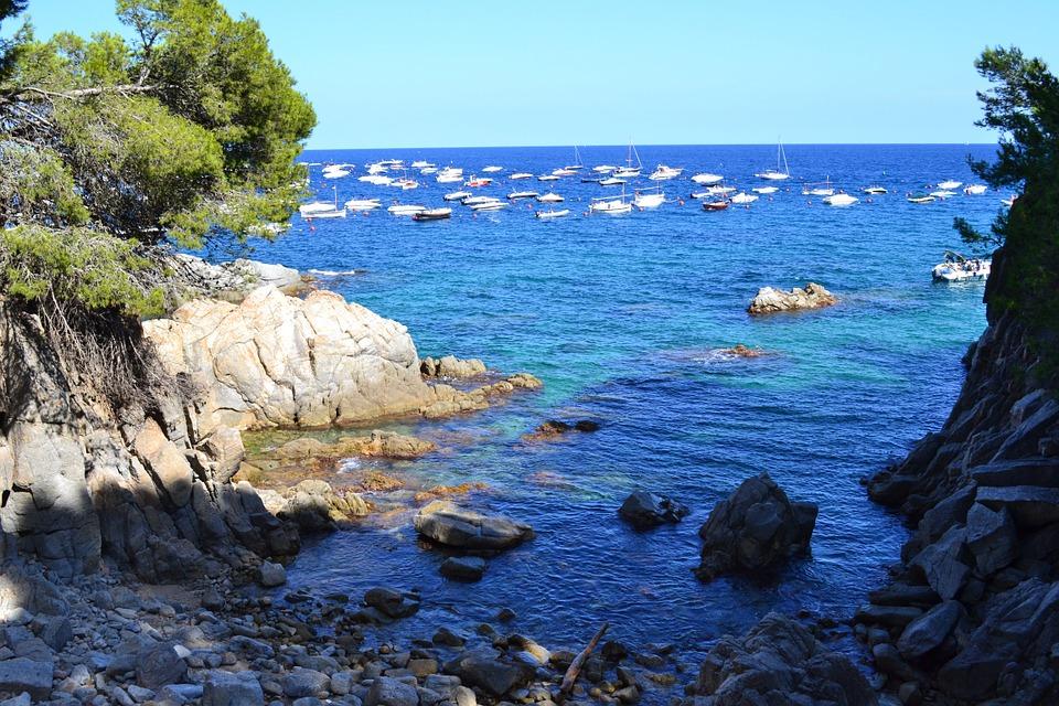 Catalonian coastline