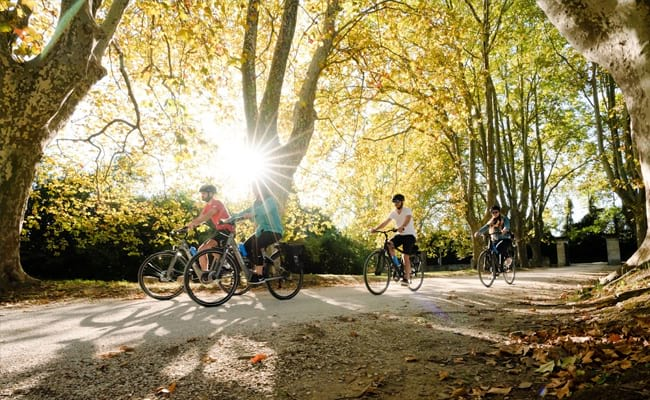 Cycling holidays with kids
