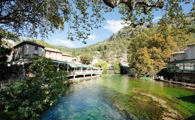 Hilltop villages provence