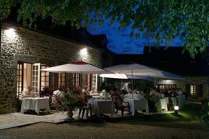 Hotel La Marjolaine Dining Area