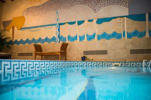 Hotel les Feuilles d'Acanthe Pool