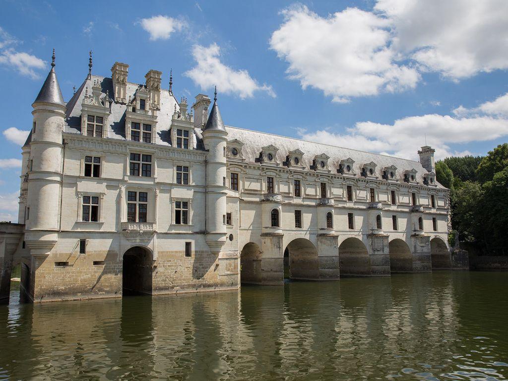 The magnificent Château Chenonceau