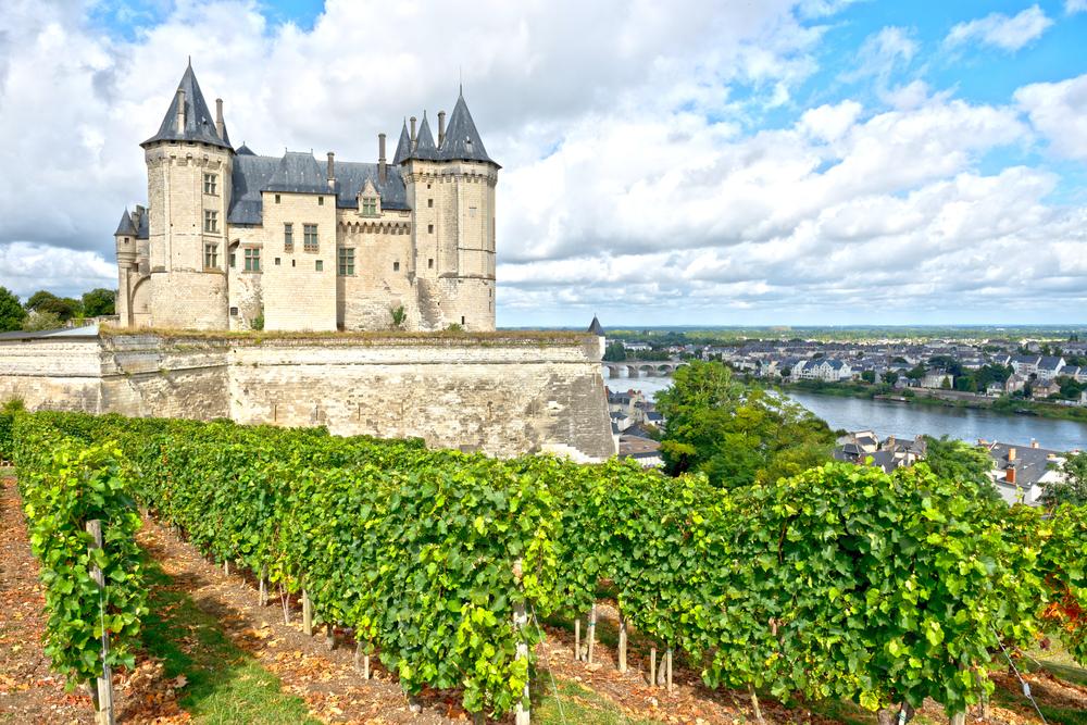 French wine region of Loire
