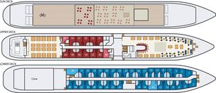 MS Bordeaux Deck Plan