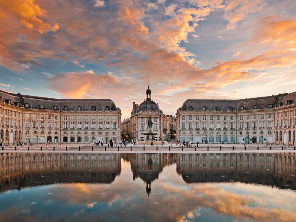 The famous Place de la Bourse