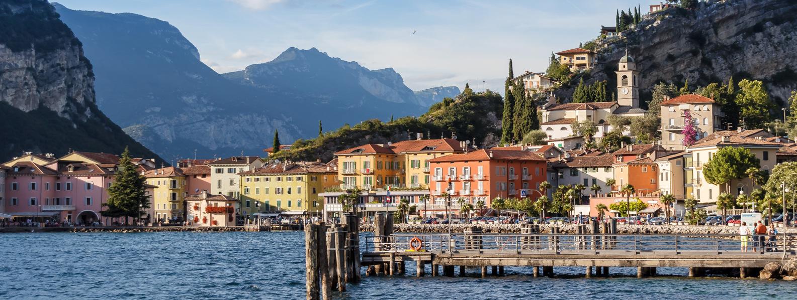 Riva del Garda in Italy
