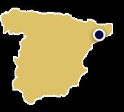 Spain Tour map