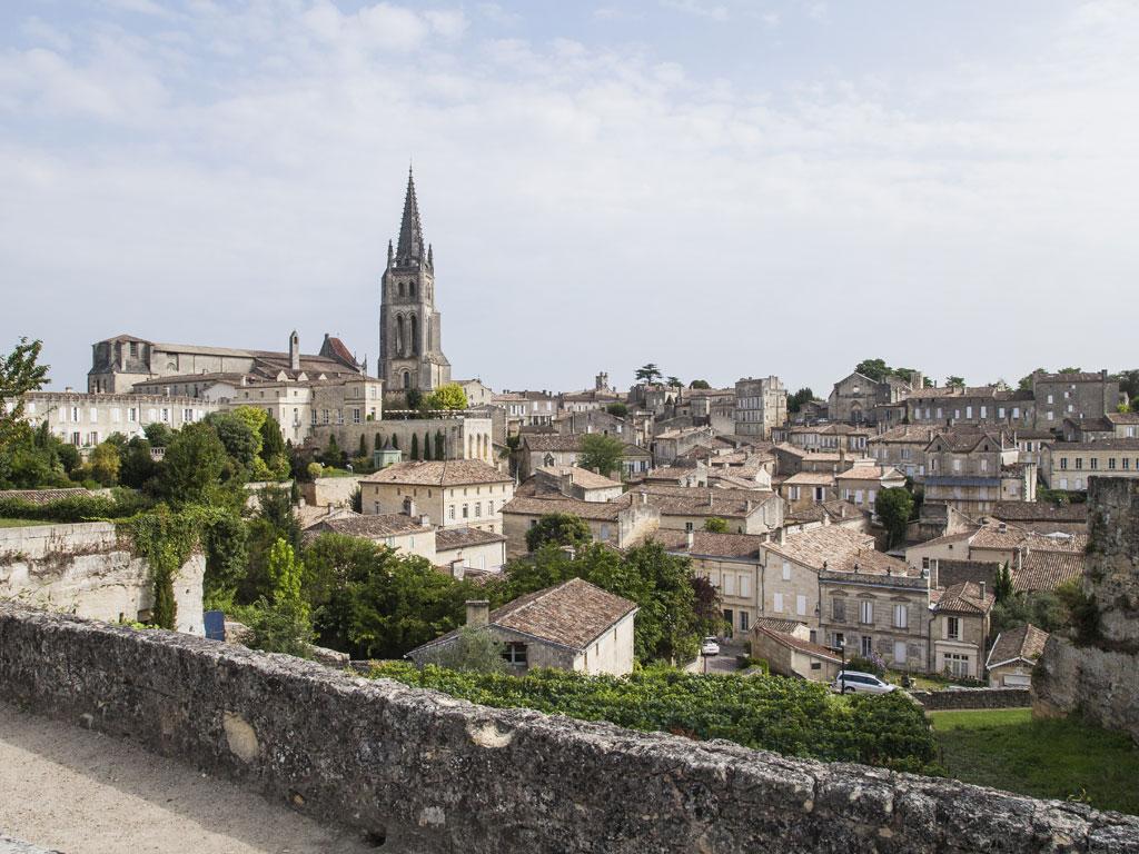 The commune of St Emilion