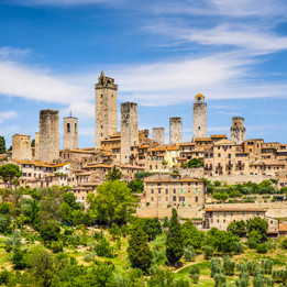 E-Bike | Siena and San Gimignano
