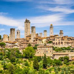 E-Bike | Siena and San Gimignano