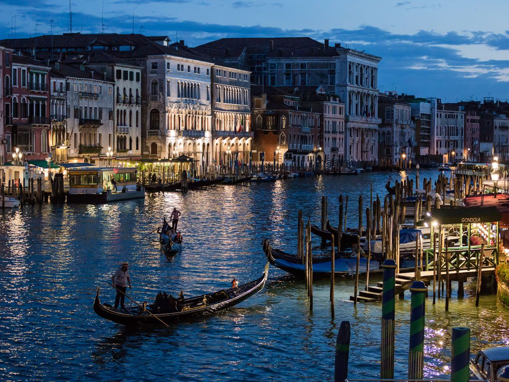 The Floating City of Venice