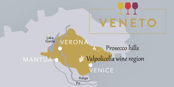 Map Veneto