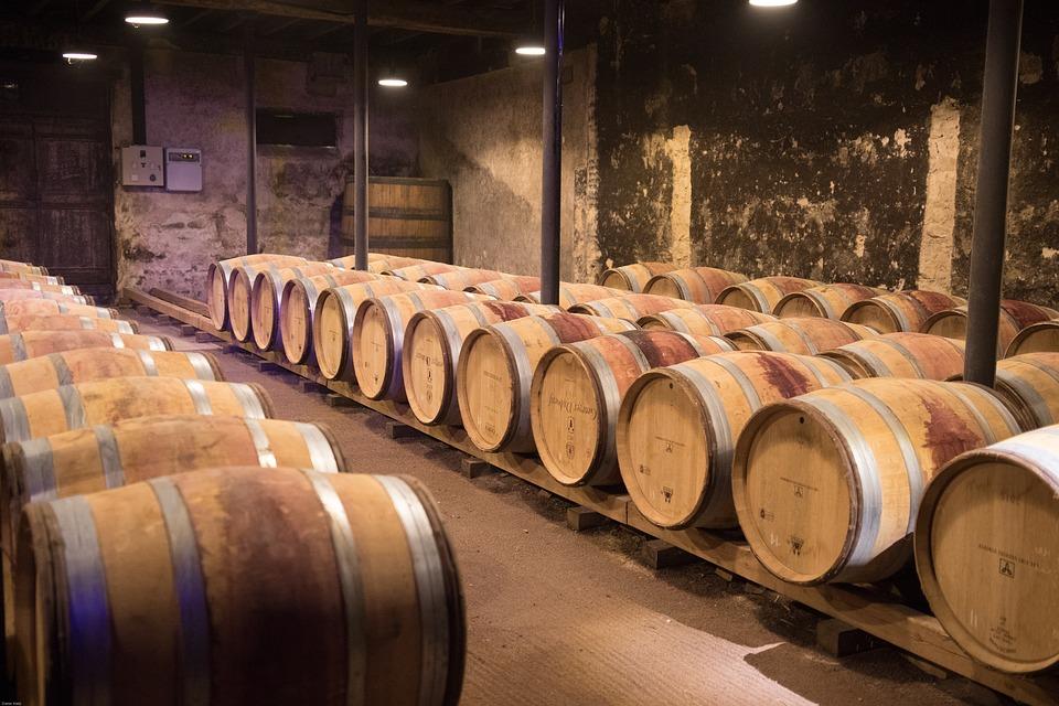 Well matured wines